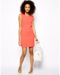 Monki Exclusive Sleeveless Bodycon Dress - Lyst