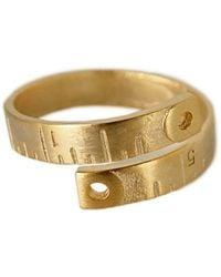 Ziba - Layered Ruler Ring - Lyst