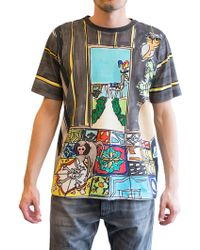 Dolce & Gabbana | Printed Tiles T-shirt | Lyst