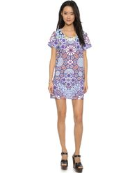 MINKPINK Whisper Of The Heart Tee Dress - Multi multicolor - Lyst