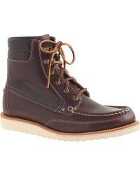 J.Crew Wallace & Barnes Byrd Boots - Lyst