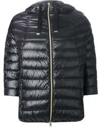 Herno Quilted Coat - Lyst