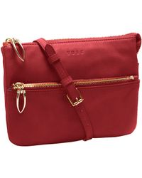 Tusk - Donington Leather Double-gusset East West Bag - Lyst