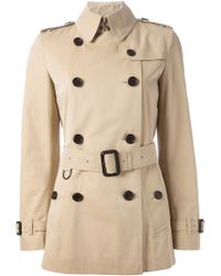 Burberry London 'Balmoral' Trench Coat - Lyst