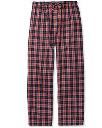 Derek Rose Ranga Plaid Cotton Pyjama Trousers - Lyst