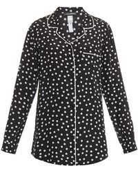 Dolce & Gabbana Polka-Dot Silk Crepe De Chine Pajama Pants - Lyst
