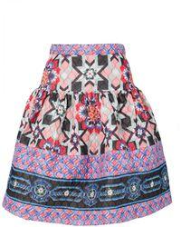 Temperley London Merida Tile Skirt - Lyst