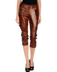 Jean Paul Gaultier 3/4-Length Trousers - Lyst