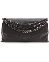 MILLY - Collins Clutch - Black - Lyst