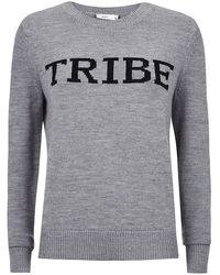 A.L.C. Tribe Slogan Sweater - Lyst