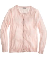 J.Crew Collection Featherweight Cashmere Cardigan Sweater - Lyst