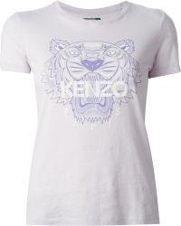Kenzo 'Tier' T-Shirt - Lyst