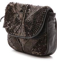 Antik Batik Darix Pouch - Black - Lyst