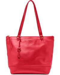 Fossil | Gifting Leather Shopper | Lyst