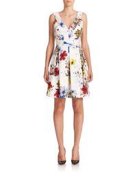 Erdem   Fabienne Floral Dress   Lyst