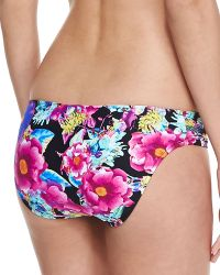 Seafolly Paradiso Ruchedside Swim Bottom - Lyst