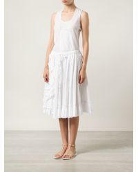 Dosa - Ruffled Skirt - Lyst