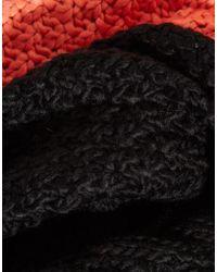 Liquorish   Cable Knit Snood   Lyst