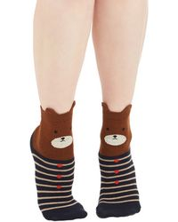 Ana Accessories Inc - My Bear Lady Socks - Lyst