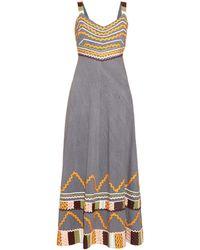 Easton Pearson Take Away - Summer Girl Ribbon-trim Cotton Dress - Lyst