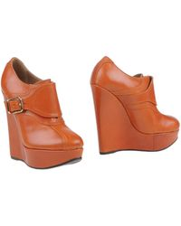 DSquared2 Brown Shoe Boots - Lyst