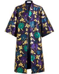 Osman Yousefzada Brocade Kimono Coat - Lyst
