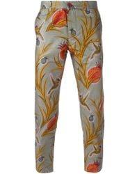 Dent De Man - Aboriginal Print Trousers - Lyst