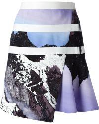 Peter Pilotto - Printed Wrap Skirt - Lyst