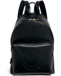 Anya Hindmarch   'smiley' Leather Backpack   Lyst