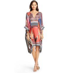 Diane von Furstenberg Dvf Bellamy Tunic Dress - Lyst