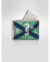 Polo Ralph Lauren Nautical Flag Pouch - Lyst