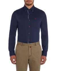 Magee - Button Down Shirt - Lyst
