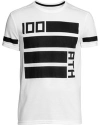 H&M Sports T-Shirt white - Lyst