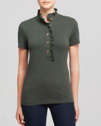 Tory Burch Lidia Polo Shirt - Lyst