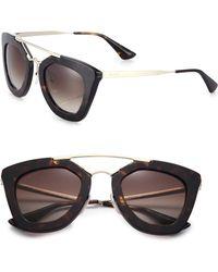Prada Cat'S-Eye Sunglasses - Lyst