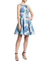 Alice + Olivia Foss Cutout-back Dress - Lyst