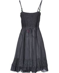 Odd Molly Short Dress black - Lyst