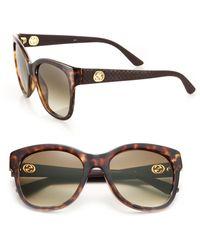 Gucci | Gg 54mm Optyl Cat's-eye Sunglasses | Lyst