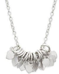 Satya Jewelry - 'veils Petal' Cluster Pendant Necklace - Lyst