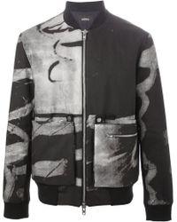 Berthold - Printed Bomber Jacket - Lyst