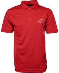 Cutter & Buck - Men's Short-sleeve Arizona Cardinals Polo - Lyst