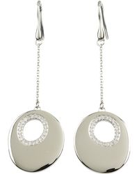 Breil - Duplicity Crystal Earrings - Lyst