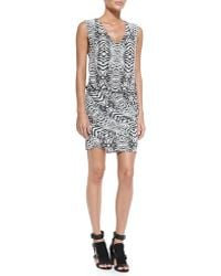 Rebecca Minkoff Spirit Sleeveless Blouson-top Dress - Lyst
