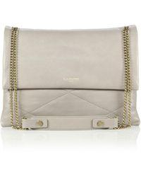 Lanvin Sugar Medium Leather Shoulder Bag - Lyst