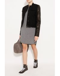 T By Alexander Wang Classic Dress with Pocket - Lyst