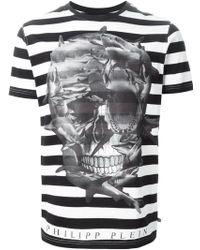 Philipp Plein 'Black Skull' T-Shirt - Lyst