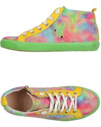 Leather Crown High-Tops & Trainers multicolor - Lyst