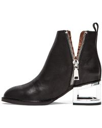 Jeffrey Campbell Black Boome Bootie - Lyst