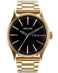 Nixon 'The Sentry Ss' Watch - Lyst