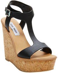 Steve Madden Iluvit Wedge Sandals - Lyst